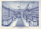 Interior of Allen & Chapman's Drug Store
