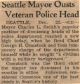 State History. City of Seattle, Cont'd. Police Department. General.