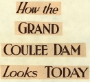 State history. Grand Coulee Dam....