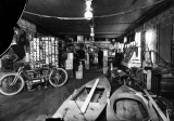 Sporting Goods Store Interior, ca. 1900