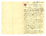 Philip William Dasch Letter 1919...