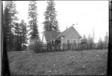 Home with Fence, 1914