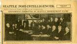 Conference Committee of Seattle Improvement Clubs, 1908