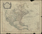 A Map of North America. [1765]