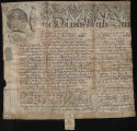 Queen Anne Letters patent [?], ca. 1702-1707