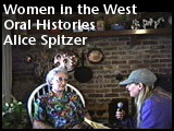 Spitzer, Alice Oral History Interview, 2005