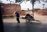 Two-wheeled cart, 1991