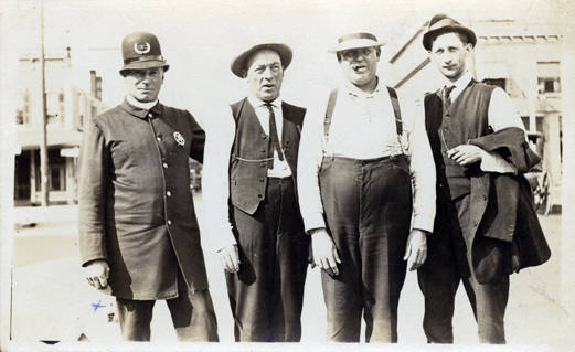 Henry Burgy, John Secrist and Two Others - Clark County Historical