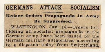 World War  Propaganda  1918-06-19 - Kimble Northwest History