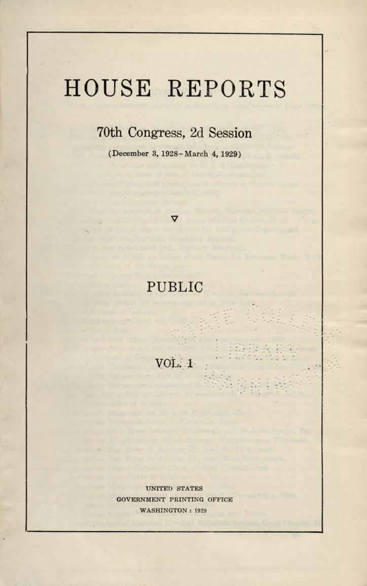 70th United States Congress
